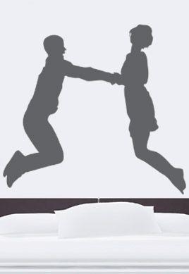 Stickers couple naïf