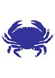 Stickers Crabe