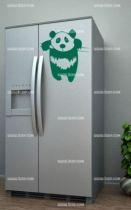 Stickers cuisine panda