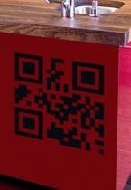 stickers QR code frigo