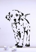 Stickers dalmatien chiot
