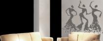 Le stickers danseuses africaines pour une décoration ethnique et dépaysante