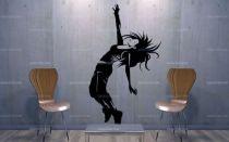 Stickers danseuse contemporaine