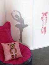stickers danseuse enfant