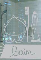 stickers muraux salle de bain