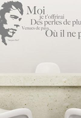stickers des perles de pluie