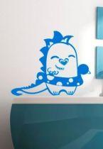Stickers dinosaure à la bouée