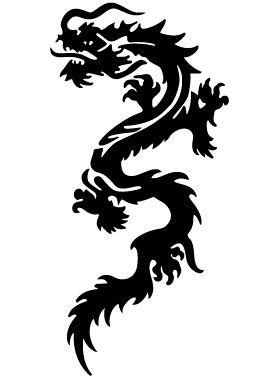 Stickers dragon chinois - Photo de dragon chinois ...