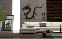 Stickers dragon d\'Asie