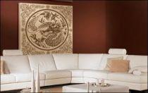 Le stickers dragon ornement carré pour une décoration ethnique et dépaysante