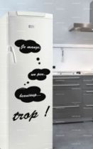 stickers frigo ardoise