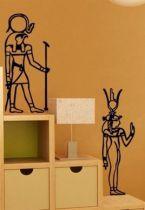 Stickers Egypte Les gardes de la Reine