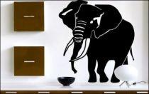 Le stickers éléphant indien pour une décoration ethnique et dépaysante