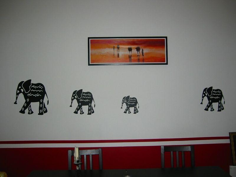 stickers pour décorer sur le thème de l\'afrique avec ces stickers éléphants