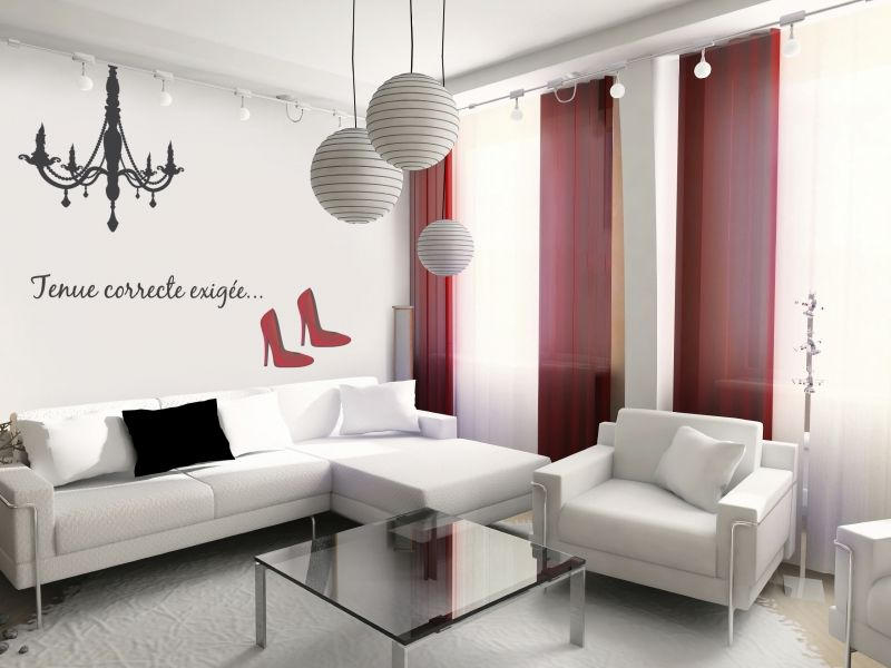 stickers en soldes lustre. Black Bedroom Furniture Sets. Home Design Ideas