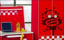 Le stickers enfant abeille pour décorer une chambre d\'enfant
