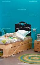 Stickers enfant ardoise tête de lit