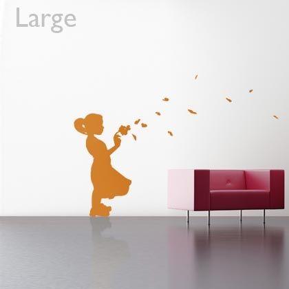 Stickers Enfant aux coeurs
