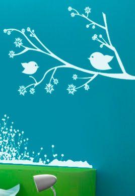 stickers chambre enfant oiseau