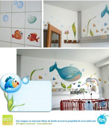 décoration chambre hôpital pour enfant
