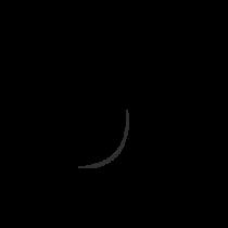 Le stickers esquisse écriture arabe en noir pour une décoration exotique
