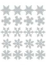 Stickers étoiles de noël