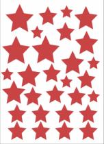 Stickers étoiles du cirque