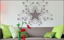 Le stickers étoiles et feuilles pour décorer l\'intérieur