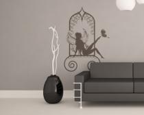 Le stickers fée orient pour décorer l\'intérieur sur le thème des fées