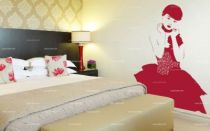 stickers femme chinoise