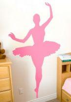 Stickers femme danseuse ballet