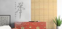 Le stickers feng shui pour une décoration ethnique et dépaysante