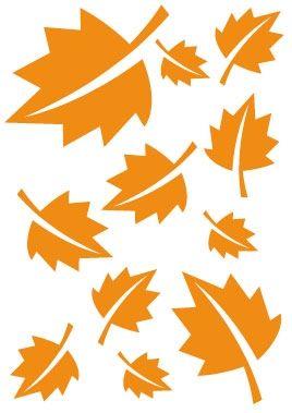 Stickers feuilles d\'Automne