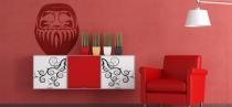 Le stickers figurine célèbre asie pour décorer l\'intérieur