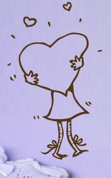 stickers amour enfant
