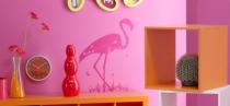Le stickers flamant pour décorer une chambre d\'enfant