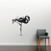 Stickers flamant rose