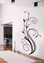 Stickers fleur graphique pour décoration murale