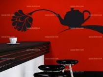 stickers fleur de thé