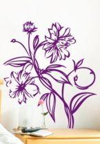 Stickers fleur.