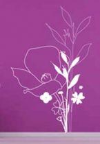 Stickers fleur sauvage