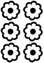 Stickers fleurs : FIORELLI