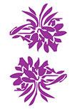 stickers fleurs
