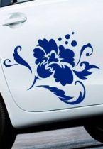 Stickers fleurs pour voiture