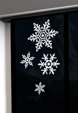 stickers flocons des neiges
