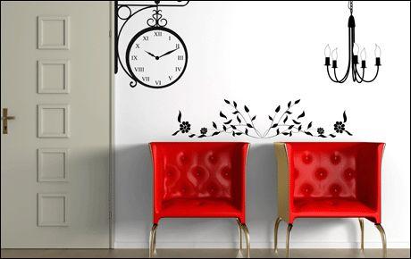 Le stickers floral baroque pour une décoration baroque