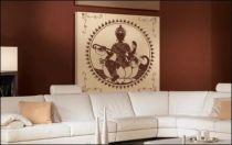 Le stickers fresque indienne pour une décoration ethnique et dépaysante