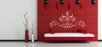 Le stickers fresque ornementale pour une décoration baroque