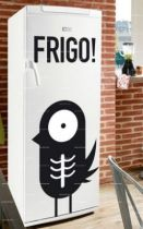 Stickers frigo : Oiseau.