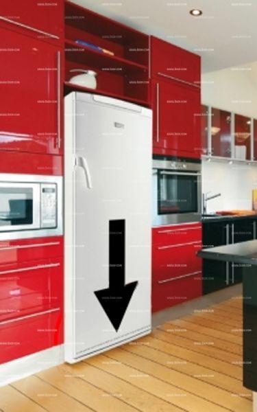 Stickers frigo: Flèche